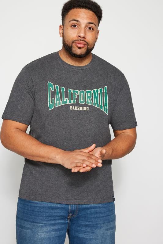 BadRhino Grey 'California' T-Shirt