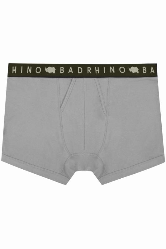 Boxers & Briefs BadRhino Grey Elasticated A Front Boxers 200947