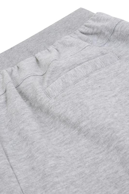 BadRhino Grey Marl Basic Sweat Joggers With Pockets