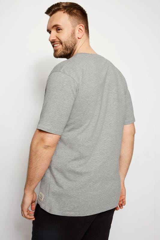 BadRhino Grey Marl Flag T-Shirt