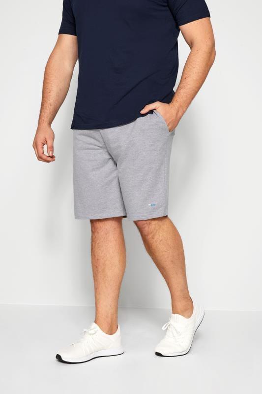 BadRhino Grey Marl Jogger Shorts