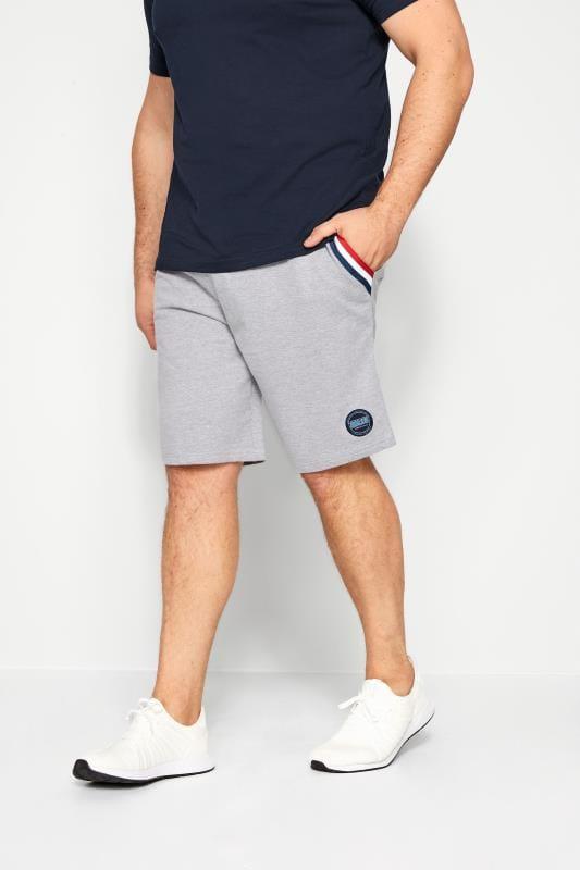 Jogger Shorts BadRhino Grey Marl Tape Jogger Shorts 201340