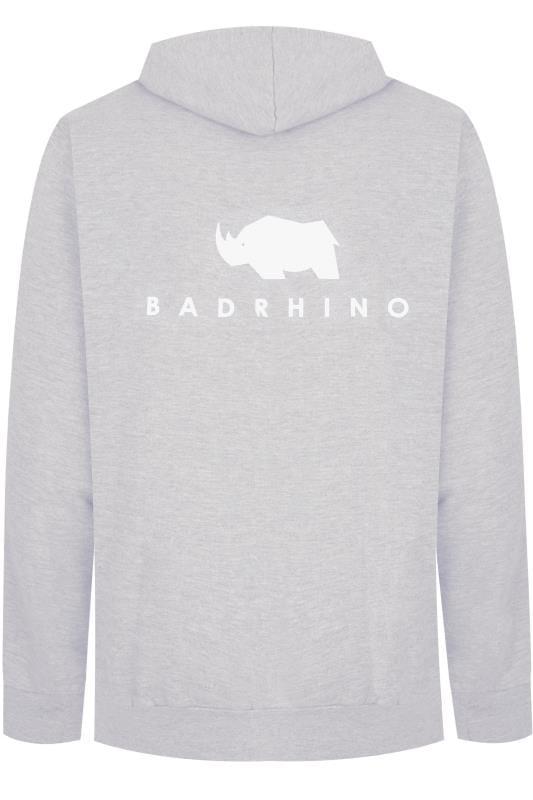 Hoodies Tallas Grandes BadRhino Grey 'Ultimate Strongman' Hoodie