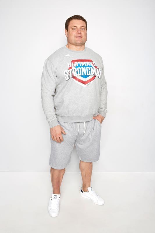 """BadRhino """"Ultimate Strongman"""" Sweatshirt - Grau"""