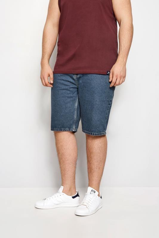 BadRhino Indigo Denim Basic 5 Pocket Shorts