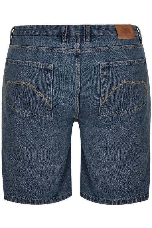 BadRhino Indigo Denim Basic 5 Pocket Shorts