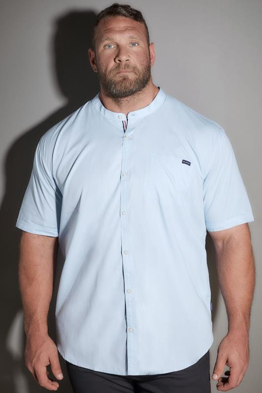 BadRhino Light Blue Poplin Shirt