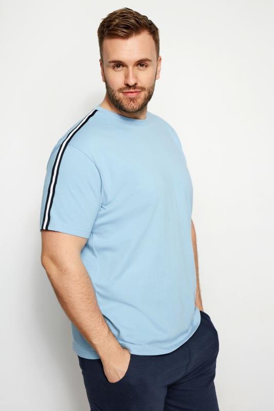 T-Shirts BadRhino Light Blue Sports Tape T-Shirt 200995
