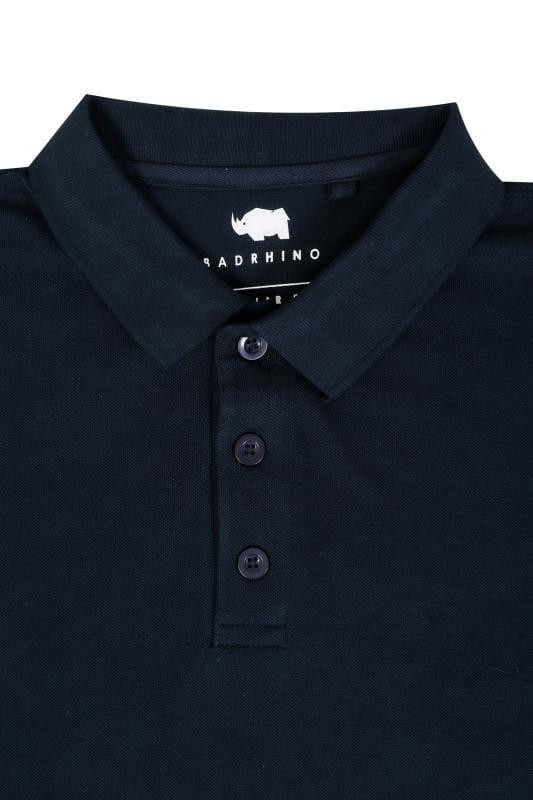 BadRhino Navy Basic Polo Shirt