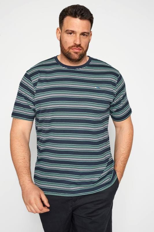 BadRhino Navy & Blue Stripe T-Shirt_3e9f.jpg