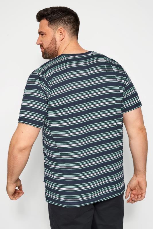 BadRhino Navy & Blue Stripe T-Shirt_a19e.jpg