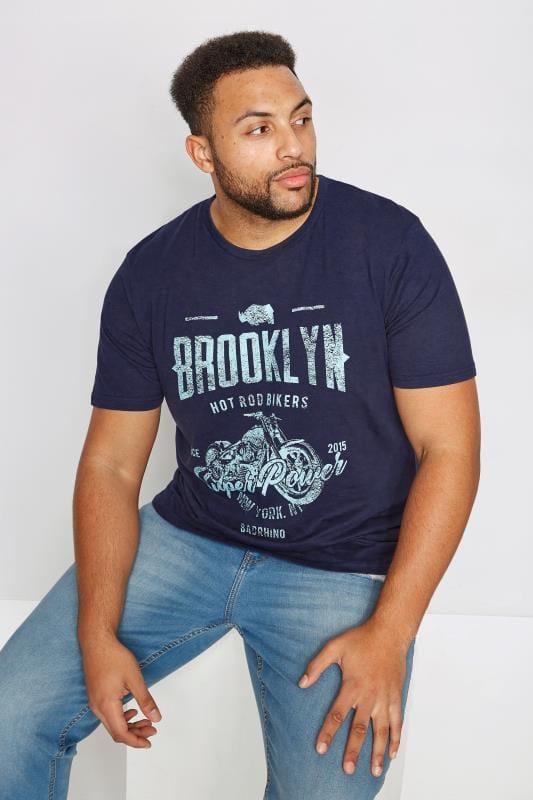 BadRhino Navy 'Brooklyn' T-Shirt