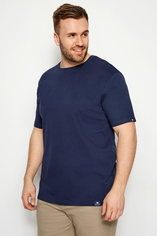BadRhino Navy Crew Neck T-Shirt