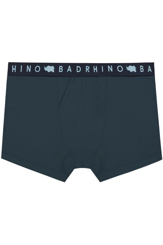 Boxers & Briefs BadRhino Navy Elasticated A Front Boxers 200402