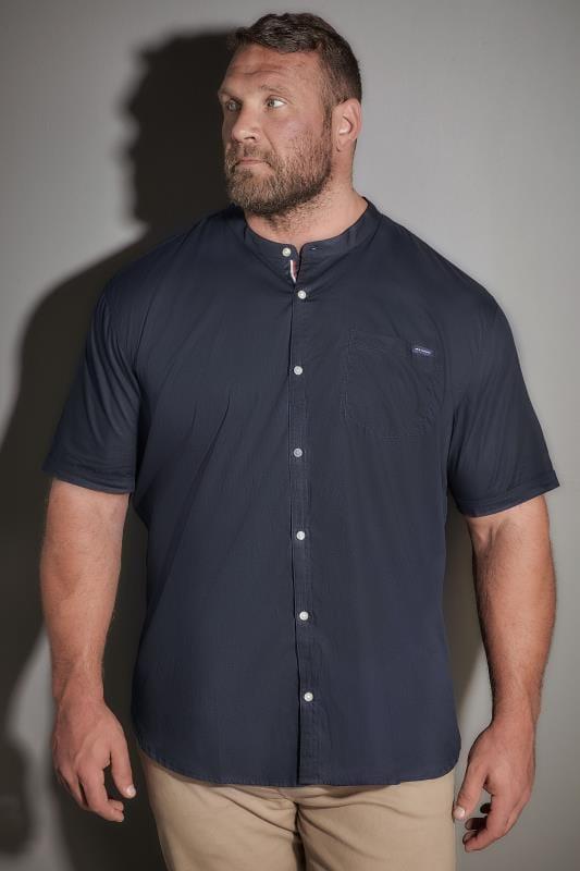 BadRhino Navy Poplin Shirt