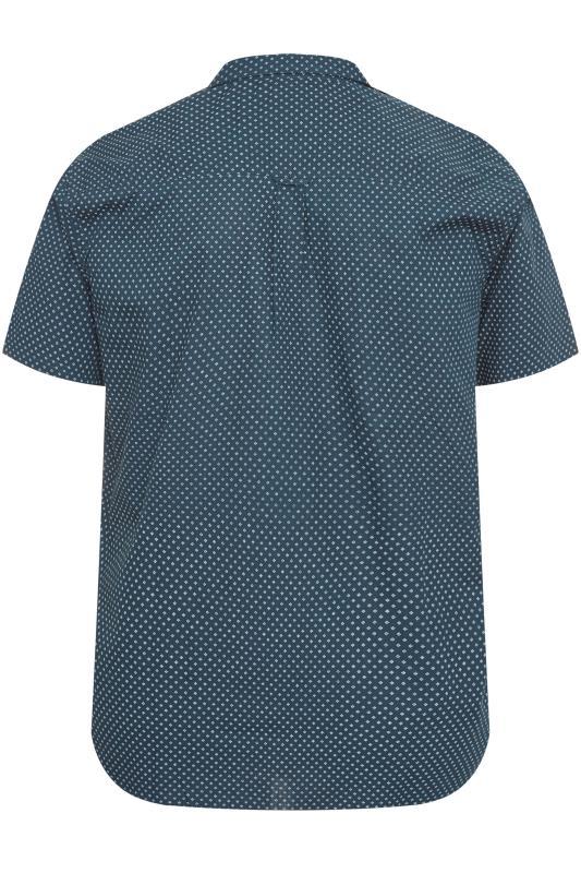 BadRhino Navy Printed Shirt