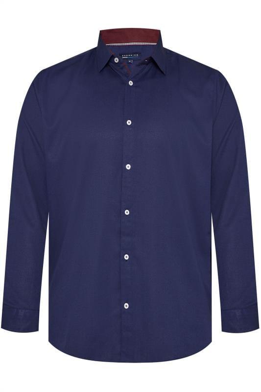 BadRhino Navy Smart Twill Shirt
