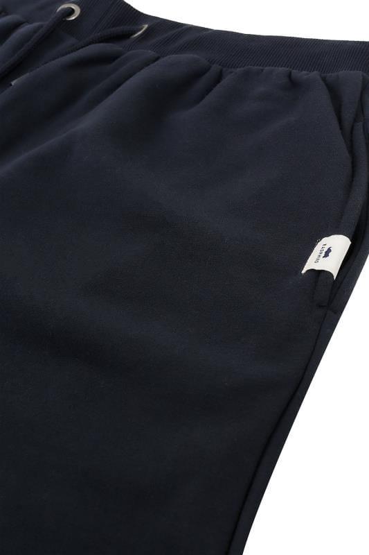 BadRhino Navy Basic Sweat Shorts