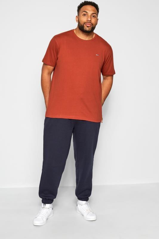 BadRhino Orange Crew Neck T-Shirt