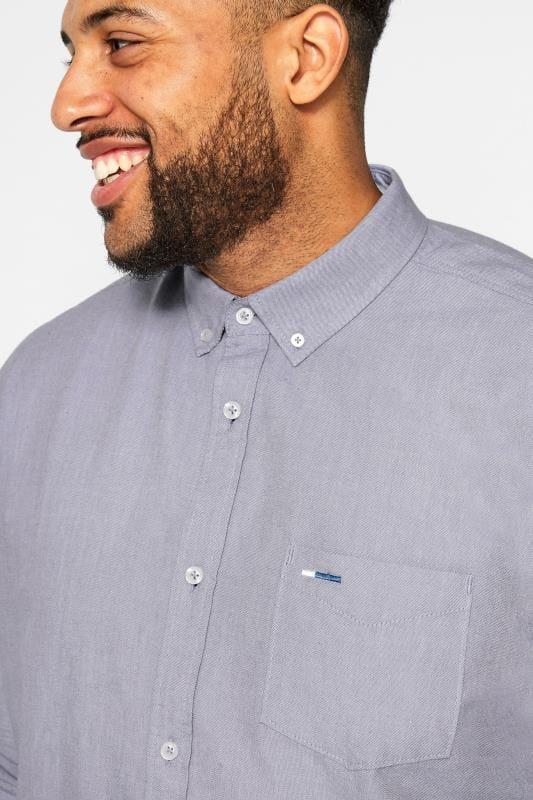 BadRhino Purple Long Sleeved Oxford Shirt