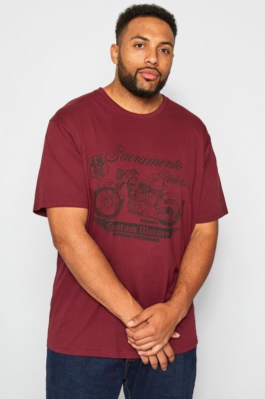 BadRhino Red 'Sacramento' Graphic T-Shirt