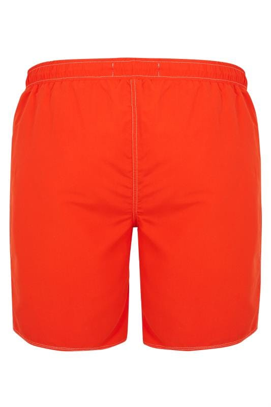 BadRhino Red Swim Shorts
