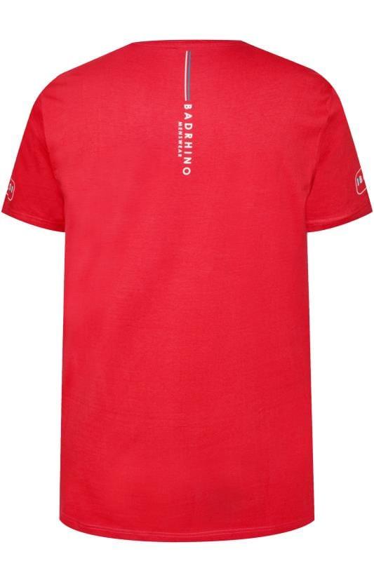 BadRhino Red 'Ultimate Strongman' T-Shirt
