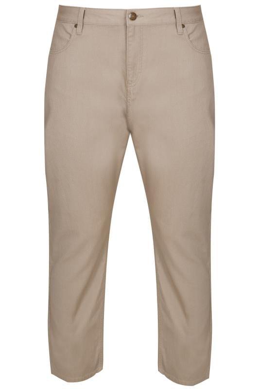 BadRhino Stone Bedford Cord Trousers