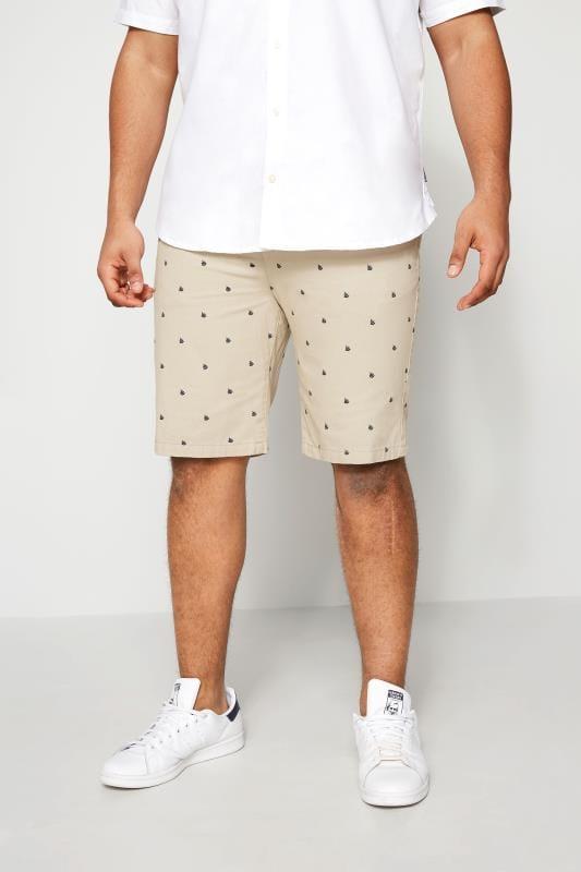 Chino Shorts BadRhino Stone Printed Chino Shorts 200611