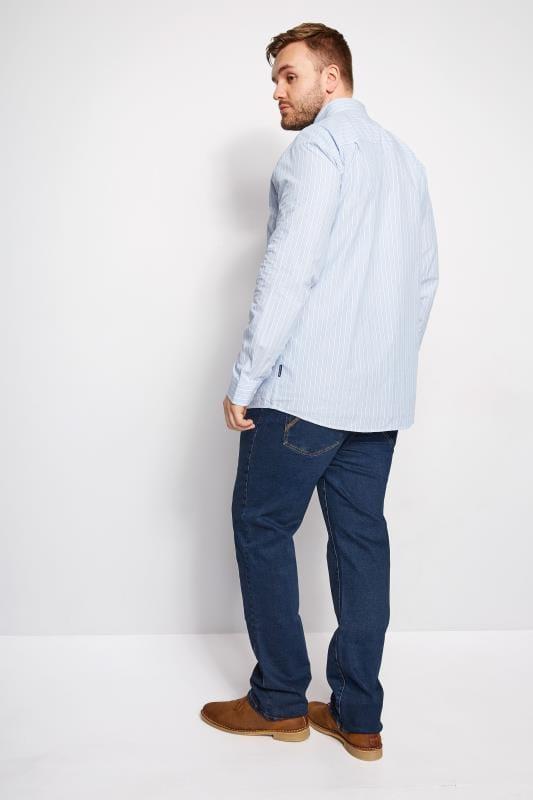 BadRhino Stonewash Denim Straight Leg Jeans