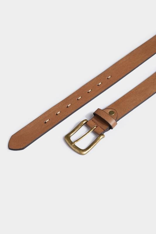 BadRhino Tan Bonded Leather Belt