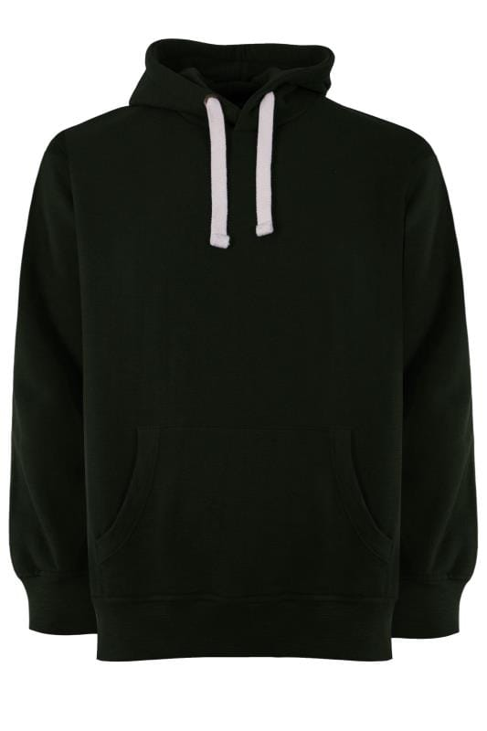 Plus Size Hoodies BAR HARBOUR Moss Green Hoodie
