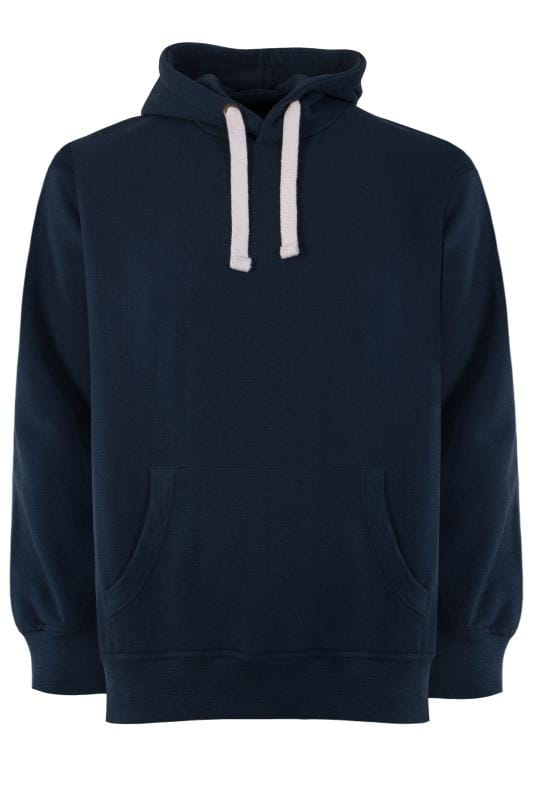 Plus Size Hoodies BAR HARBOUR Navy Hoodie