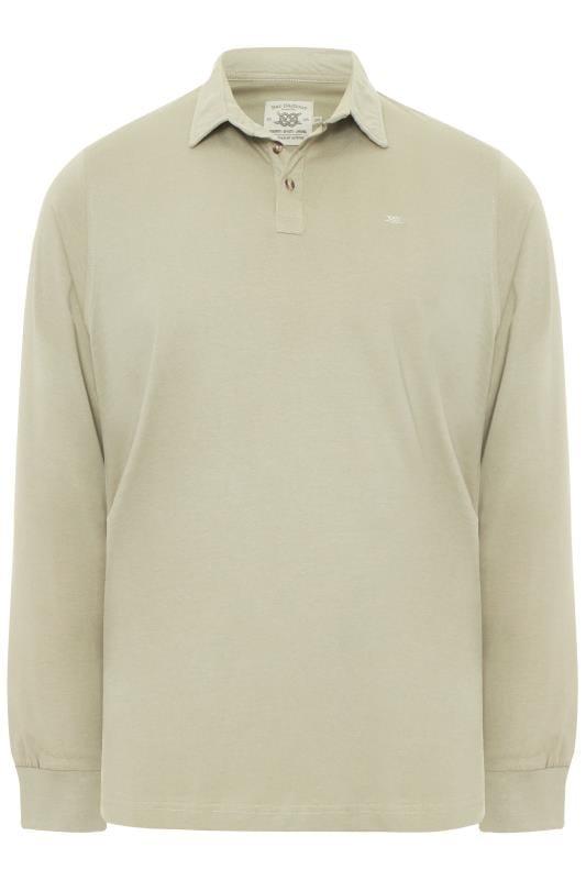 BAR HARBOUR Stone Long Sleeve Polo Shirt