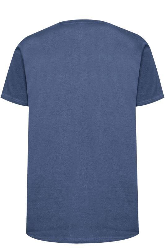 BAR HARBOUR Navy Printed T-Shirt