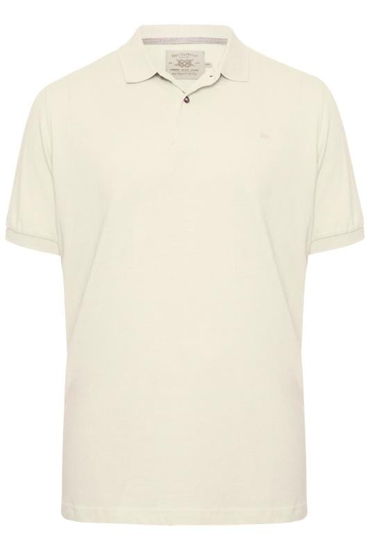 Plus Size Polo Shirts BAR HARBOUR Stone Polo Shirt