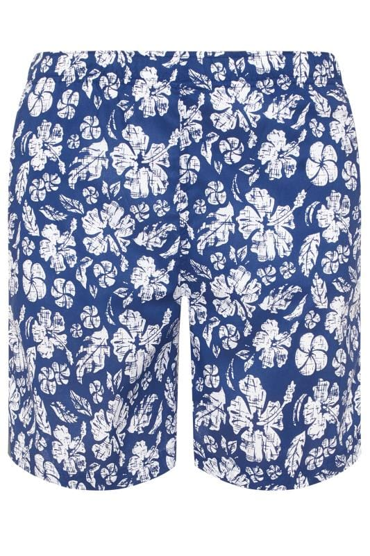 Swim Shorts BAR HARBOUR Navy Tropical Swim Shorts 203371