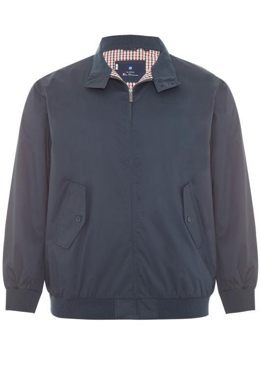 Jackets BEN SHERMAN Navy Harrington Jacket 201423