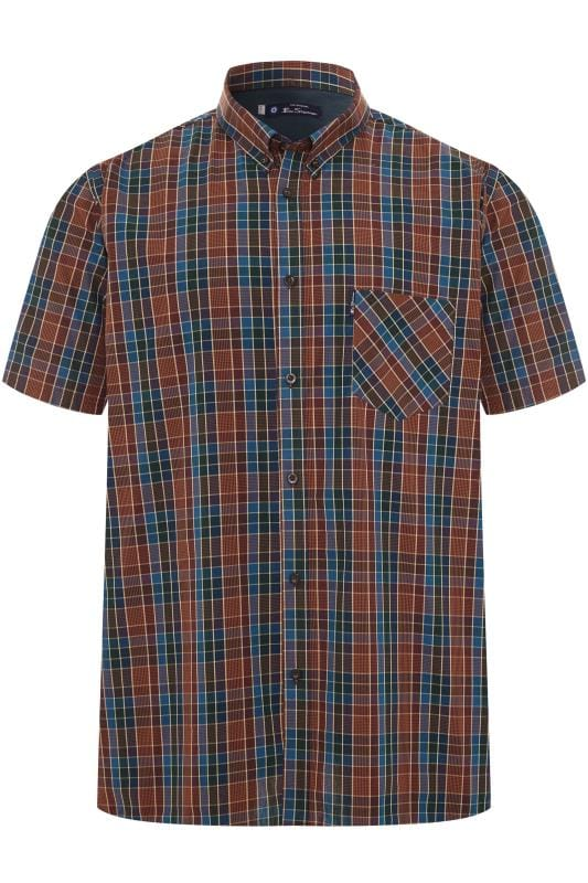 Gloves dla puszystych BEN SHERMAN Red Gingham Check Shirt