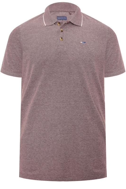 Plus Size Beauty Light Purple Birdseye Polo Shirt