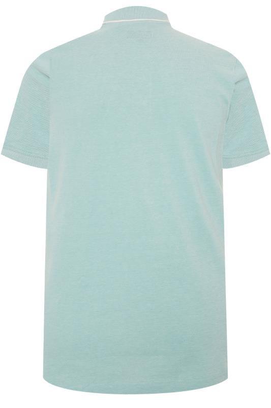BadRhino Green Birdseye Polo Shirt