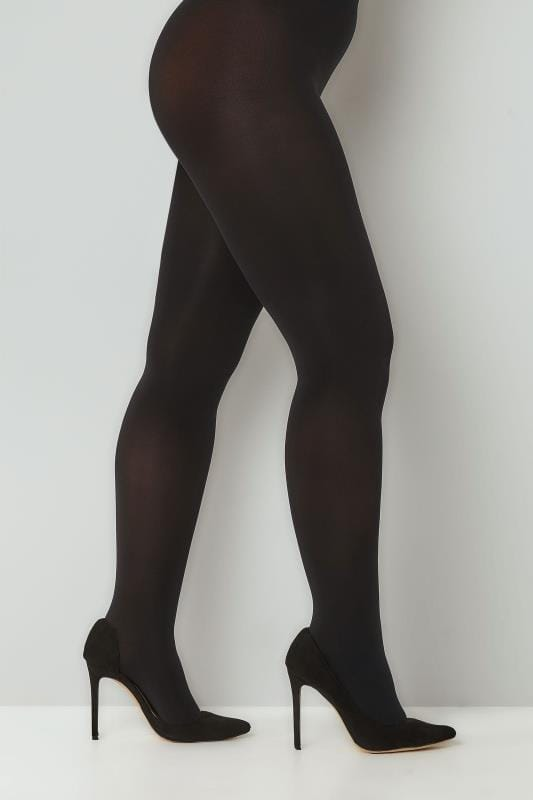Schwarze Strumpfhose 120 DEN