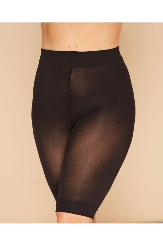 Black Anti Chaffing Shorts