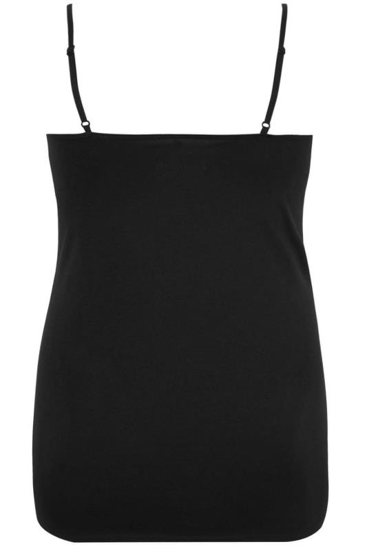 Black Cami Vest Top