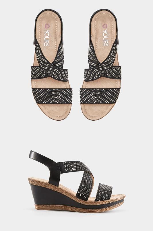 High Heels für breite Füße   Heels in Weite H   Yours Clothing