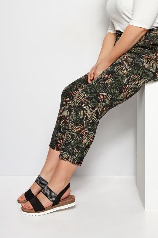 Wide Fit Sandals Black Embellished Elasticated Sandals In Extra Wide Fit