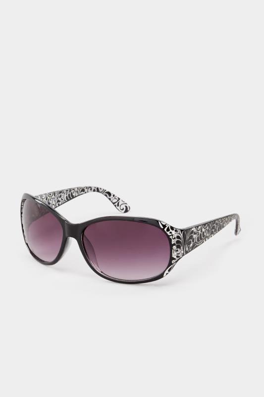 Black Filigree Sunglasses