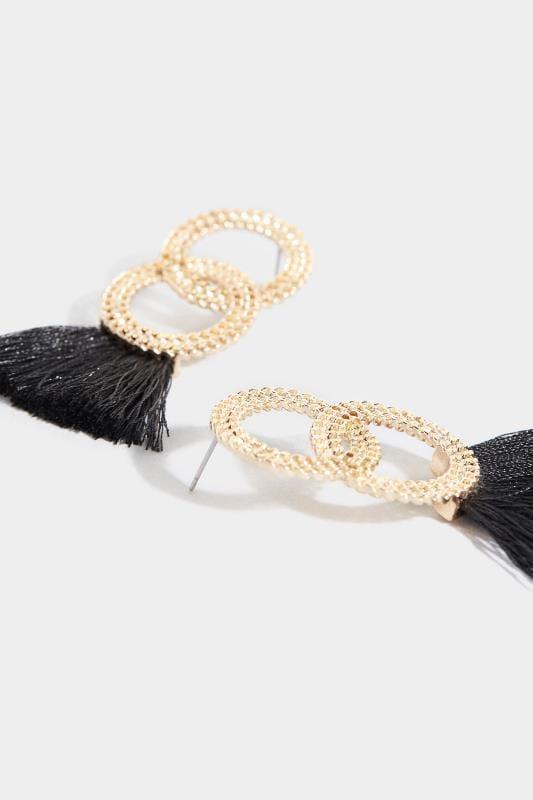 Gold & Black Tassel Earrings_1ca3.jpg