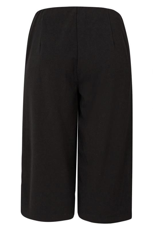 Black Horn Button Culottes
