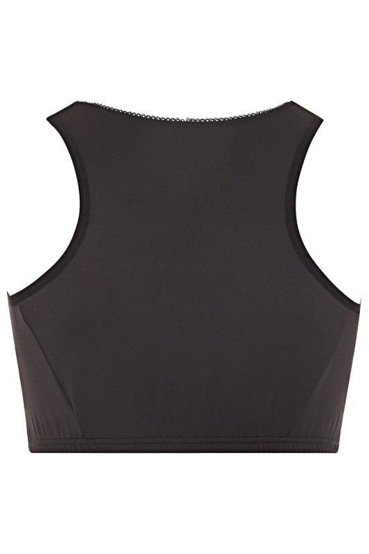 Black Lace Front Fastening Bra